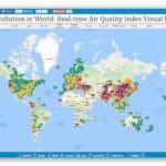Zanieczyszczenie powietrza na całym świecie