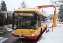 W Warszawie powstają pierwsze stacje ładowania autobusów elektrycznych