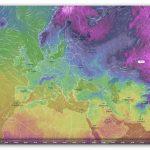 Interaktywna mapa pogody na świecie