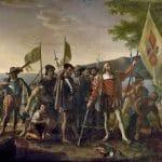 12 października Krzysztof Kolumb wylądował na wyspie San Salvador / @ John Vanderlyn