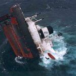 Wyciek mazutu z tankowca Erika u wybrzeży Bretanii