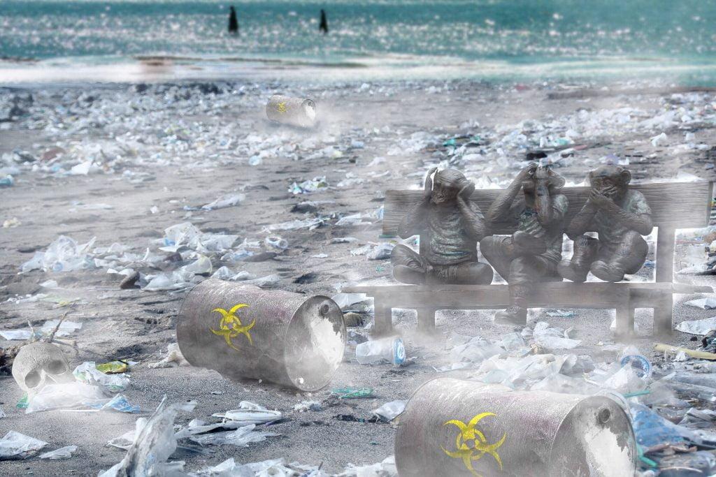 W ekologii katastrofa ekologiczna, zwana jest też klęską ekologiczną