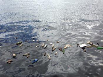Plastikowe wyspy śmieci