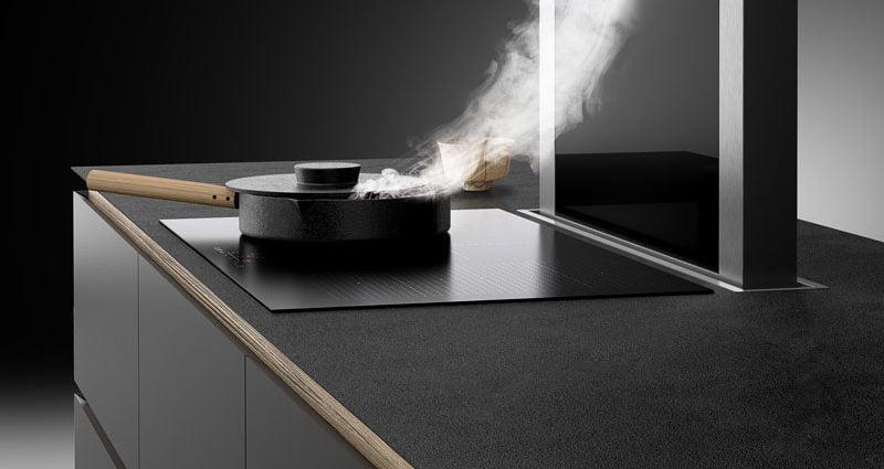 Energooszczędny okap kuchenny / Okap MOONDRAFT / @ Ciarko