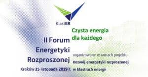 Forum Energetyki Rozproszonej.
